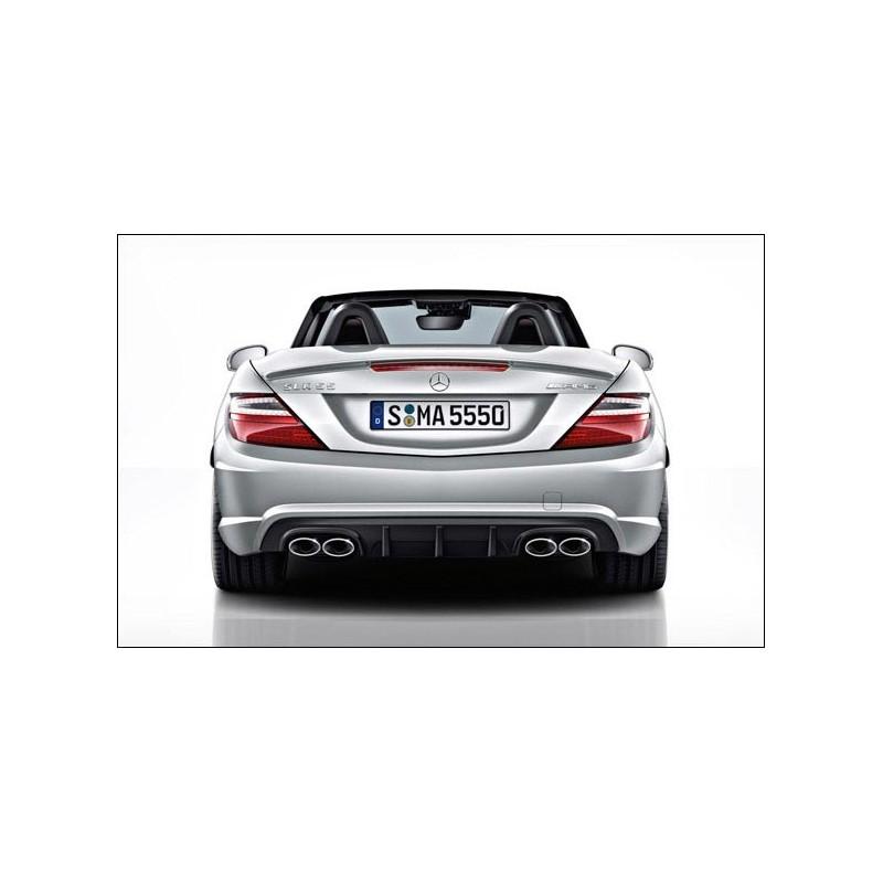 Diffuseur arrière original SLK 55 AMG pour Mercedes SLK R172 Pack AMG