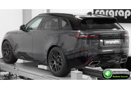 "Echappement sport ""Active Sound System "" CarGraphic Range Rover VELAR D300 (2017-) Finition R-Dynamic"