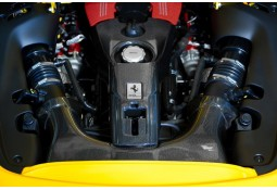 Cache moteur Carbone CAPRISTO Ferrari 488 GTB / GTS