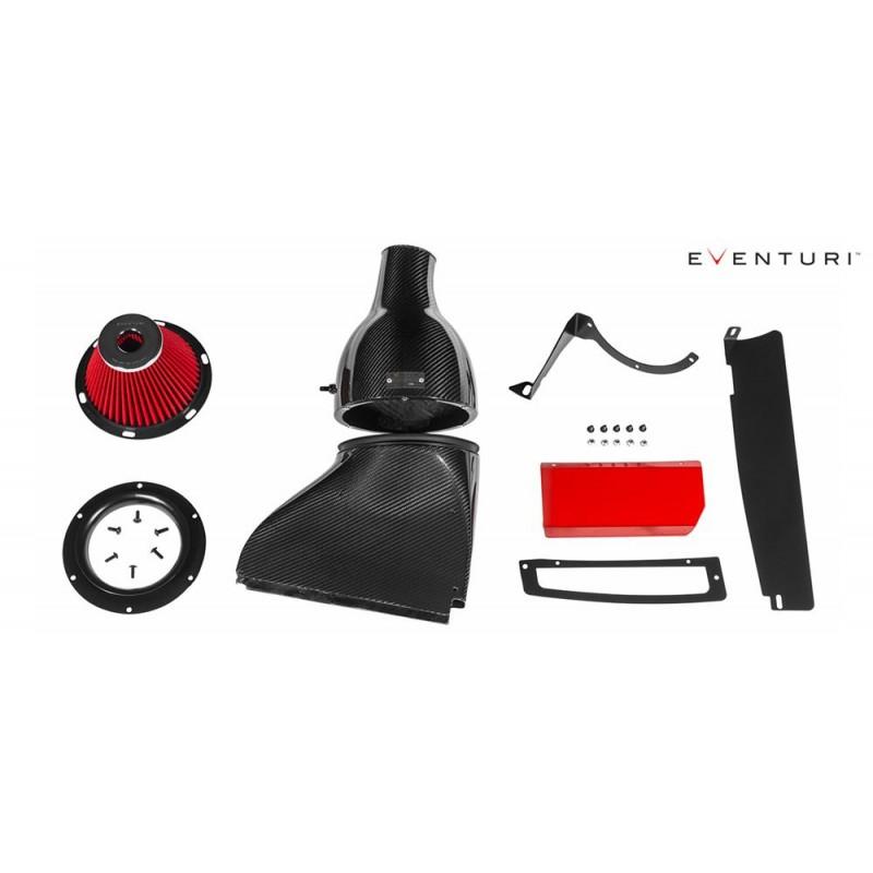 Kit d'admission Carbone / Kevlar EVENTURI pour VW Golf 7 GTI / R