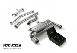 Echappement ARMYTRIX BMW 440i 2WD (F32/F33) -Ligne Cat-Back à valves (2016-)