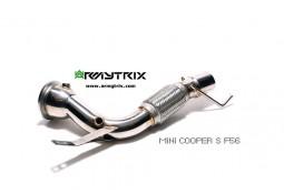 Downpipe + Suppression Catalyseur ARMYTRIX MINI Cooper S (+JCW) (F55) (2014-)