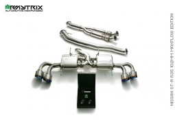 Echappement ARMYTRIX Nissan GT-R (R35) - Ligne Cat-Back à valves Inox MAXFLOW EDITION (2007-)
