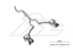 Echappement Fi EXHAUST Porsche Panamera 4 / 4S 3,0T 971 - Ligne Cat-Back à valves (2017-)