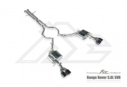Echappement Fi EXHAUST Range Rover Sport 5,0 SVR (2017-2018) - Ligne Cat-Back à valves