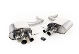 Silencieux arrière MILLTEK à valves pour Mercedes C63 / C63 S AMG Berline (W205)