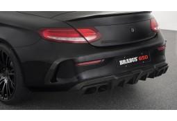 Echappement BRABUS Mercedes Classe C63 S AMG / C63 AMG Coupé / Cabriolet A/C205 Silencieux à valves + Diffuseur Carbone
