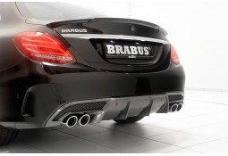 Echappement BRABUS Mercedes Classe C 4 Cylindres Essence Berline & Break (W/S205) -Silencieux + Diffuseur