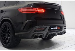 Echappement BRABUS Mercedes GLE 63 & 63 S Coupé (C292) -Silencieux à valves + Diffuseur Carbone