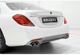 Echappement BRABUS Mercedes Classe S 350 Bluetech (W222) (-06/2017) -Silencieux + Diffuseur