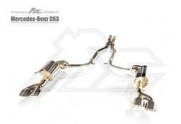 Echappement Fi EXHAUST Mercedes Classe C63 AMG W/C/S204 (2007-2013)-Ligne Cat-Back à valves
