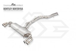 Echappement Fi Exhaust Bentley Bentayga W12 6,0 TSI (2016+) -Ligne Cat-Back à valves