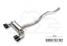 Echappement Fi EXHAUST Bmw M2 F87 (2015+) -Ligne Cat-Back à valves