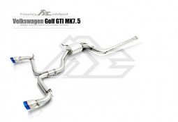 Echappement Fi EXHAUST Golf 7 GTI (2015-2017)+(2017+)-Ligne Cat-Back à valves