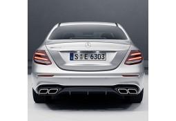 Diffuseur + Embouts échappements E63 AMG pour Mercedes Classe E Berline (W213) Pack AMG