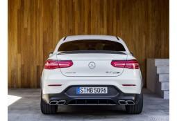 Diffuseur + Embouts échappements 63 AMG S Mercedes GLC Coupé C253 Pack AMG