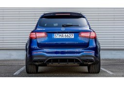 Diffuseur + Embouts échappements 63 AMG S Mercedes GLC SUV X253 Pack AMG