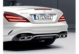 Diffuseur + Embouts échappements SL63 AMG pour Mercedes SL R231 Pack AMG (04/2016+)
