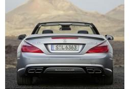 Diffuseur + Embouts échappements SL63 AMG pour Mercedes SL R231 Pack AMG (2012-04/2016)