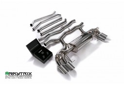 Echappement ARMYTRIX BMW 550i 4WD (G30/G31)(2017+) -Ligne Cat-Back à valves