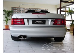 Echappement MEC DESIGN Mercedes SL R129 - Silencieux arrière