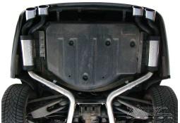 Echappement MEC DESIGN Mercedes Classe E63 E55 AMG Berline W211 - Silencieux arrière