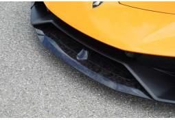 Spoiler Avant (Central) NOVITEC Lamborghini Huracan Performante (2017+) (Carbone Forged)