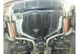 Echappement PIECHA Mercedes SLC 180 200 R172 - Silencieux arrière