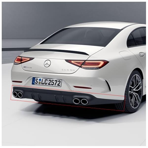 Diffuseur + Embouts échappements CLS53 AMG pour Mercedes CLS (C257) Pack AMG