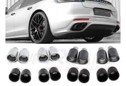 Embouts d'échappement CARGRAPHIC Porsche Panamera 971 4 / 4S / 4 E-Hybrid / Turbo / Turbo S E-Hybrid