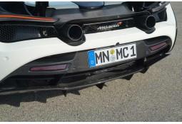 Recouvrement pare-chocs Arrière Carbone NOVITEC McLaren 720S