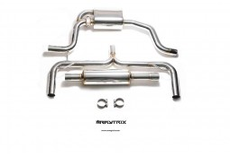 Echappement ARMYTRIX Seat Leon Cupra 2WD - Ligne Cat-Back à valves (2014+)