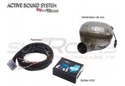 """Echappement sport """"Active Sound System """" pour Audi A1 TDI (8X)"""