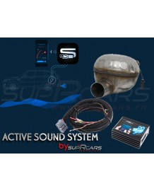 Active Sound System Jeep Compass 2,2 CRD by SupRcars® (2016+)