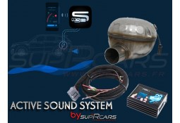 Active Sound System MERCEDES GL 350 d + CDI Diesel X166 by SupRcars®