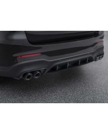Echappement BRABUS Mercedes GLC63 SUV (X253) (2017+) Silencieux à valves + Extensions de Diffuseur Carbone