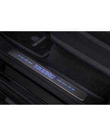 Seuils de portes lumineux BRABUS pour Mercedes G W463 A (2018+)