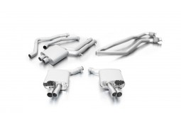 Echappement REMUS Audi RS6 / RS7 4,0l V8 C7 560Ch - Ligne Cat-Back à valves