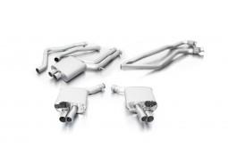 Echappement REMUS Audi RS6 / RS7 4,0l V8 C7 560Ch - Ligne Cat-Back à valves