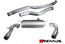 Echappement REMUS BMW 335i F30/F31 // 435i F32/F36 (2012+)- Ligne Cat-Back à valves