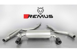 Echappement REMUS BMW 340i F30/F31 // 440i F32/F33/F36 (2015+)- Ligne Cat-Back à valves
