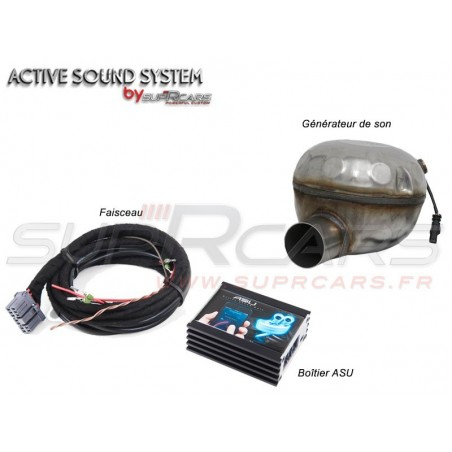 Active Sound System Jeep Compass 1,4 MultiAir by SupRcars® (2016+)