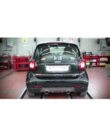 Echappement TUBI STYLE SMART (C/A453) FORTWO BRABUS LOOK - Silencieux