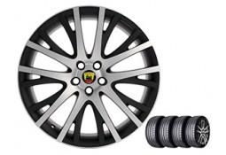 """Pack HIVER jantes et pneus ARDEN Dakar II 22"""" pour Range Rover Sport (2014-)"""