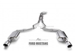 Echappement Fi EXHAUST Ford Mustang 2.3T Ecoboost (Mk6) (2015+) - Ligne Cat-Back à valves