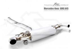 Echappement Fi EXHAUST Mercedes A45 AMG (W176) - Ligne Cat-Back à valves (2013+)