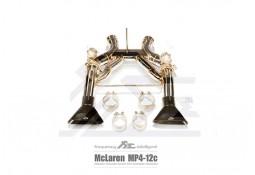 Echappement Fi EXHAUST McLaren MP4-12C - Ligne Cat-Back à valves (2011+)