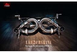 Echappement FI EXHAUST Lamborghini Huracan Performante LP610-4 - Ligne Cat-Back à valves (2014+)