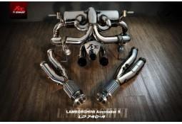 Echappement Fi EXHAUST Lamborghini Aventador S LP740-4 - Ligne Complète à valves (2017+)