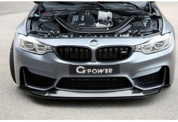 Spoiler Avant Carbone G-POWER GTS BMW M4 (F82/F83) (2014+)
